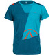 La Sportiva Workout t-shirt Heren blauw